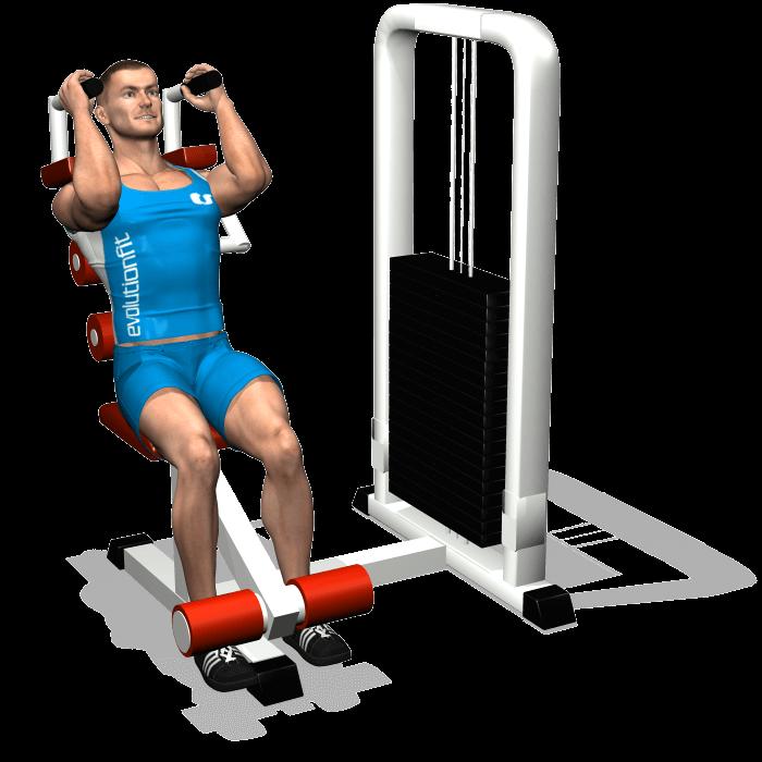 allenamento addominali chiusure abdominal machine inizio