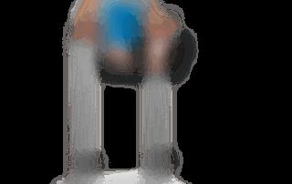 allenamento addominali alzate gambe tese alle parallele