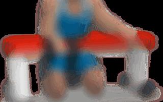 allenamento avambracci curl polso 1 manubrio su panca piana
