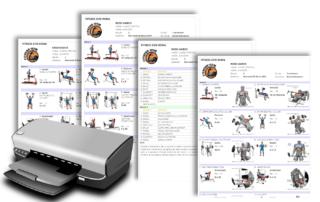 Formati stampa EvolutionFitPRO