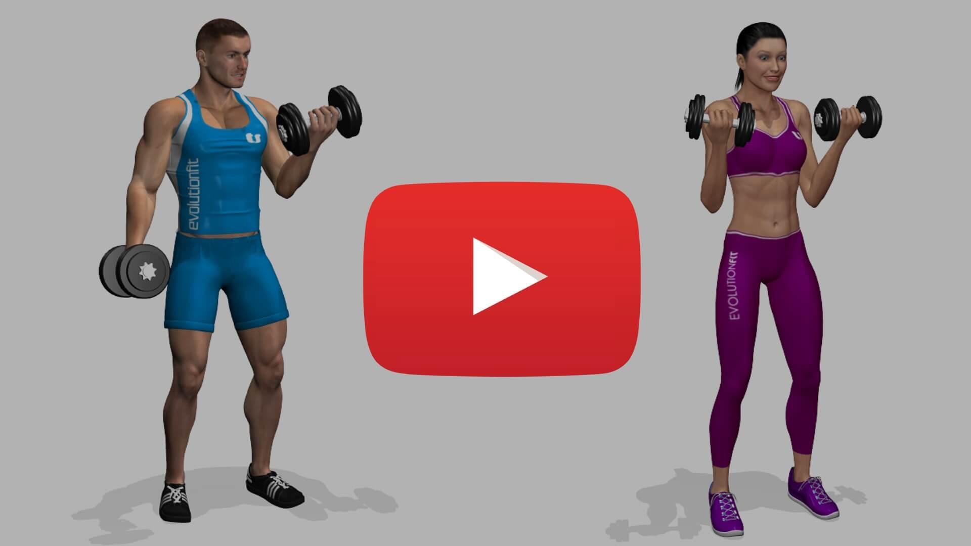 Esercizi in versione maschile e femminile evolutionfit for Maschile e femminile esercizi