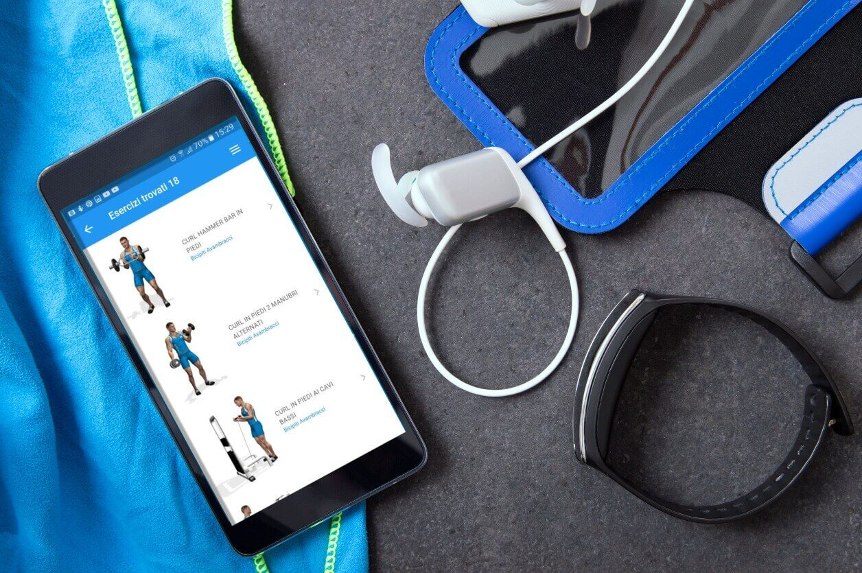 Diario allenamento su app
