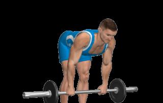 allenamento femorali stacchi a gambe tese fine