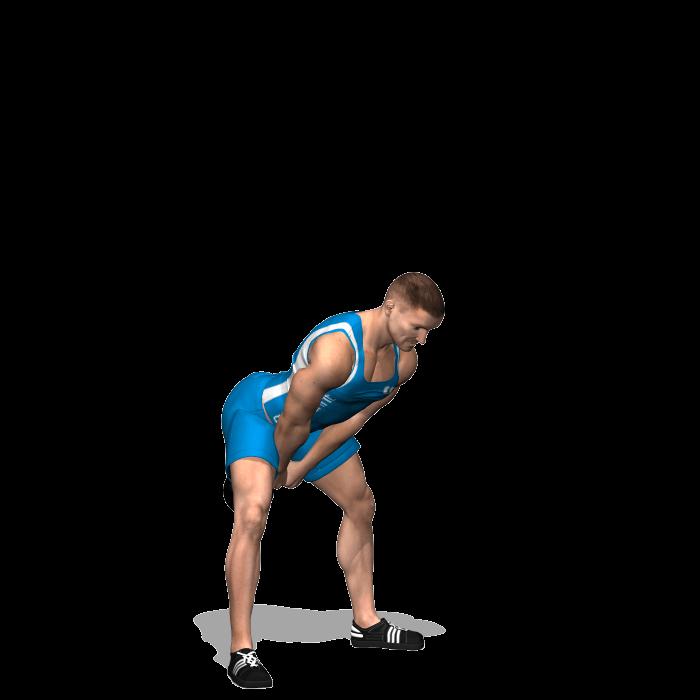 allenamento total body american swing e squat con kettlebell a due mani inizio