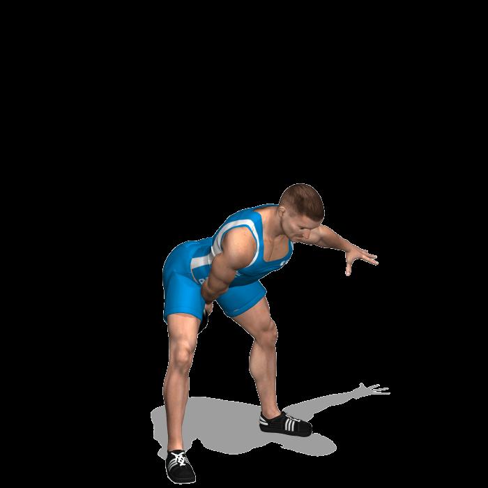 allenamento total body clean and press jerk con kettlebell inizio
