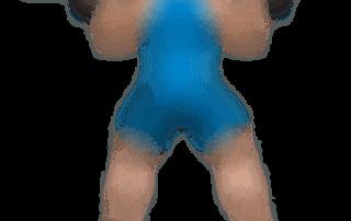 allenamento glutei sumo squat bilanciere