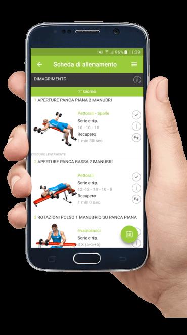 App allenamento personal trainer