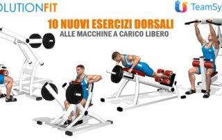 Nuovi esercizi dorsali macchine carico libero