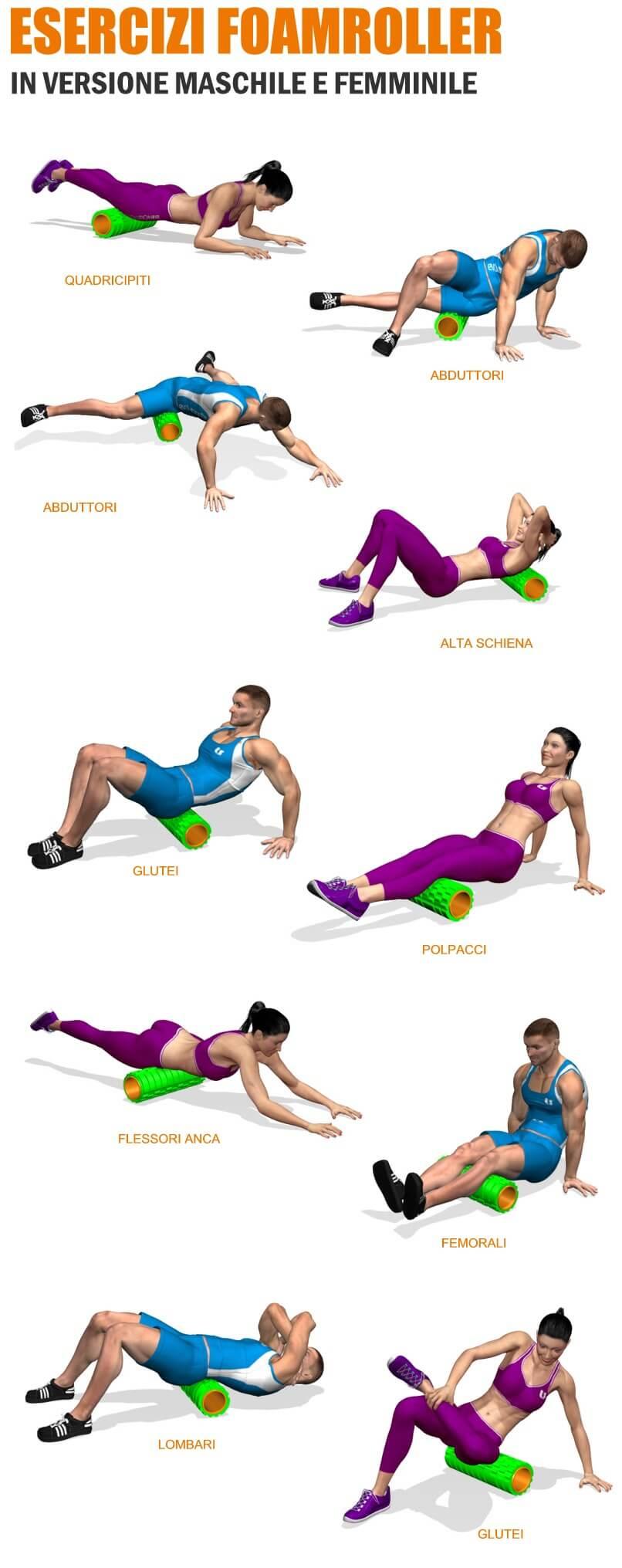 nuovi-esercizi-foamroller-evolutionfit