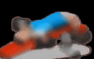 allenamento pettorali aperture panca bassa 2 manubri