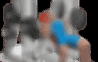 pettorali distensioni bilanciere panca alta multipower