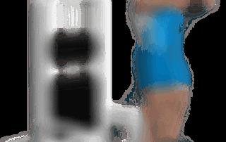 allenamento spalle alzate frontali cavo singolo