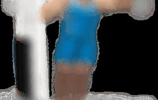 allenamento spalle alzate laterali a sbalzo 1 manubrio