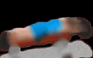 allenamento spalle cerchi sdraiato panca piana 2 manubri