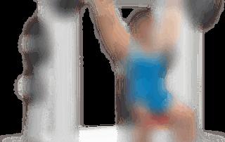 allenamento spalle lento dietro multipower