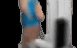 allenamento trapezi shrugs ai cavi bassi