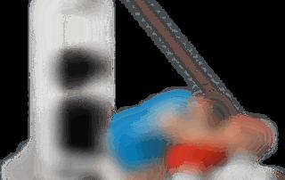 allenamento tricipiti spinte ai cavi appoggio panca piana